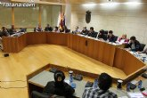 Se adelanta a las 16:00 horas el próximo jueves, día 27, la sesión del Pleno ordinario correspondiente al mes de febrero