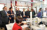 La Alcaldesa de Puerto Lumbreras participa en un encuentro empresarial organizado por la AJE Guadalentín