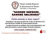 IV campaña solidaria de donación de sangre promovida por el Ilustre Cabildo