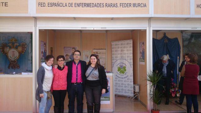 FEDER Murcia y sus asociaciones en la Feria del Voluntariado UCAM 2014