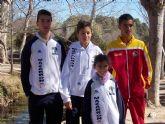 Ocho metales para el Club Atletismo Mazarr�n en las citas deportivas de San Javier y Caravaca