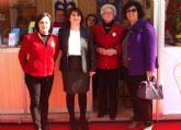 Autoridades municipales asisten al acto de inauguración de la XIII Muestra del Voluntariado