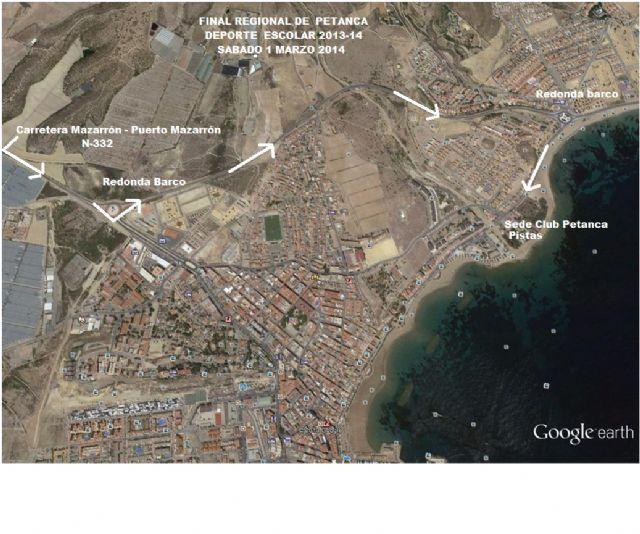 Puerto de Mazarrón agoge este sábado la final regional de petanca de Deporte Escolar, Foto 2