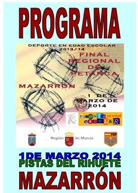 Puerto de Mazarrón agoge este sábado la final regional de petanca de Deporte Escolar, Foto 3
