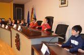 Alumnos de 4° de Primaria del colegio Virgen de Loreto protagonizaron un pleno infantil en el Ayuntamiento