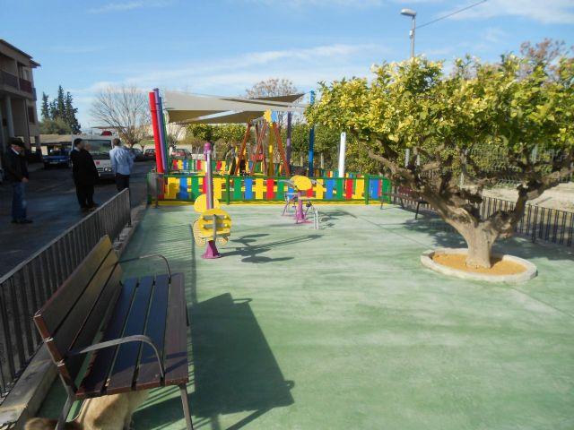 La Raya estrena zona de juegos infantiles y aparatos de gerontogimnasia - 1, Foto 1