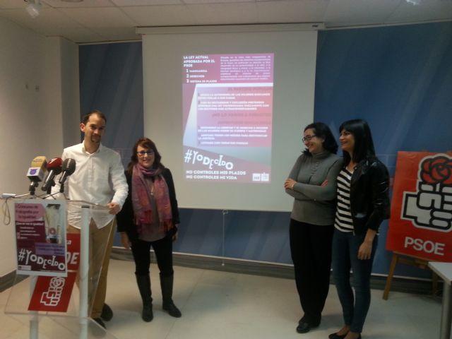 Juventudes Socialistas lanza la campaña ´YO DECIDO´ - 1, Foto 1