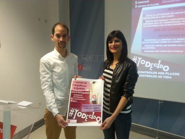 Juventudes Socialistas lanza la campaña ´YO DECIDO´ - 2, Foto 2