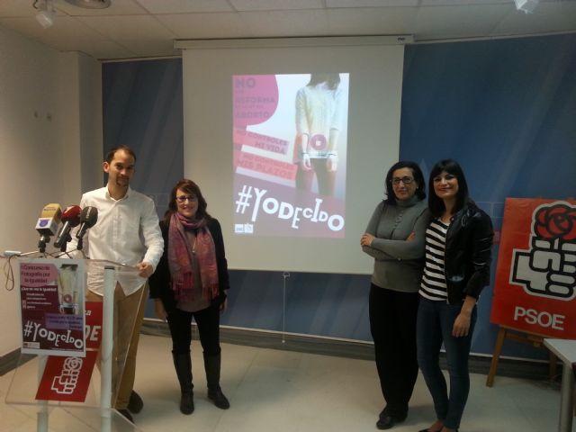Juventudes Socialistas lanza la campaña ´YO DECIDO´ - 3, Foto 3
