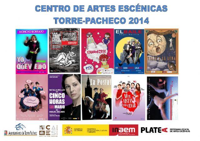 """Natalia Millán y """"Cinco horas con Mario"""" abren la programación de Artes Escénicas para 2014: Platea - 1, Foto 1"""