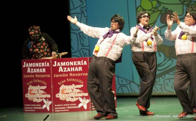El humor se instala en El Batel con la maratón de chirigotas - 1, Foto 1