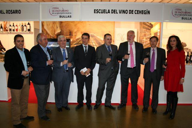 La Escuela del Vino de Cehegín, presente en la I Feria de Enoturismo de la Región de Murcia - 1, Foto 1