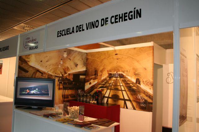 La Escuela del Vino de Cehegín, presente en la I Feria de Enoturismo de la Región de Murcia - 2, Foto 2