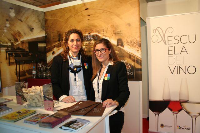 La Escuela del Vino de Cehegín, presente en la I Feria de Enoturismo de la Región de Murcia - 3, Foto 3