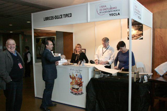 Las Rutas del Vino de Yecla ofrecen una atractiva propuesta en la I Feria de Enoturismo que se celebra en Murcia - 5, Foto 5