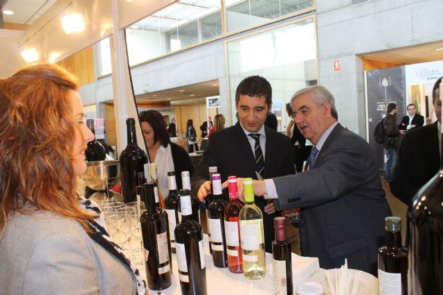 El alcalde inaugura junto con el consejero de Cultura y Turismo la I Feria de Enoturismo de la Región de Murcia - 1, Foto 1