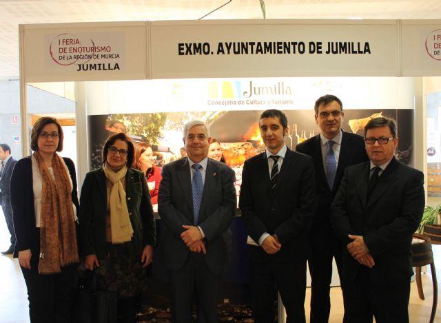 El alcalde inaugura junto con el consejero de Cultura y Turismo la I Feria de Enoturismo de la Región de Murcia - 2, Foto 2