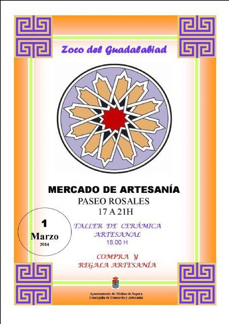 El mercadillo Zoco del Guadalabiad de Molina de Segura celebra una nueva edición el sábado 1 de marzo - 1, Foto 1