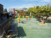 La Raya estrena zona de juegos infantiles y aparatos de gerontogimnasia