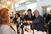 El alcalde inaugura junto con el consejero de Cultura y Turismo la I Feria de Enoturismo de la Región de Murcia