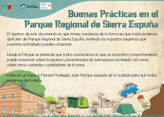 Editan un manual de buenas prácticas en el Parque Regional de Sierra Espuña para fomentar su conservación, Foto 1