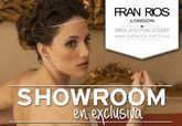 La diseñadora FRAN RÍOS LONDON estará desde mañana lunes 3 de marzo hasta el 11 en Totana para ofrecer un showroom privado para todas aquellas interesadas