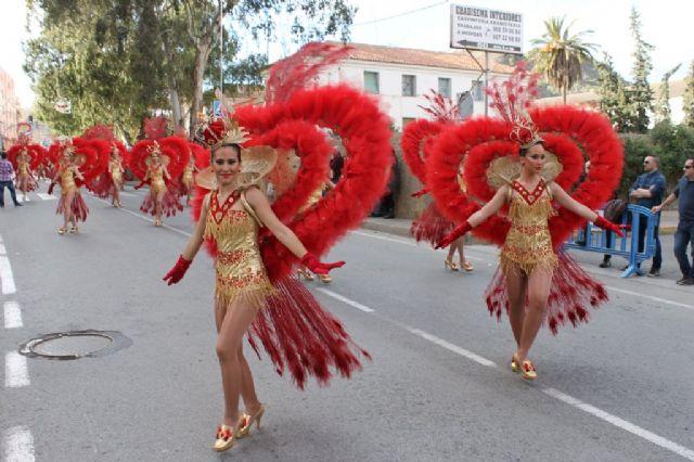 Un espectacular desfile pone el broche de oro a un carnaval de éxito, Foto 4