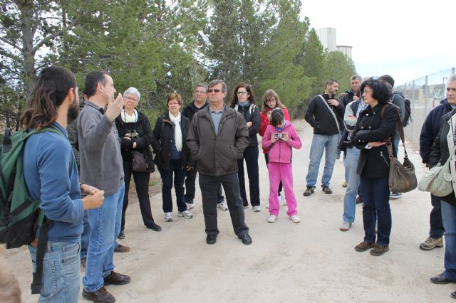 Representantes de diferentes Asociaciones de Alhama de Murcia visitan la EDAR, Foto 2