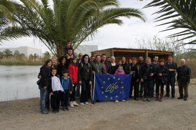 Representantes de diferentes Asociaciones de Alhama de Murcia visitan la EDAR, Foto 3