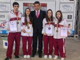 El club Koryo de Torre-Pacheco da a Murcia el mejor resultado de la historia en un Campeonato Nacional Absoluto de Taekwondo