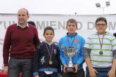 El 'Francisco Caparrós' se alza campeón regional alevín en la final de petanca de Deporte Escolar