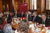 El Ayuntamiento de Molina de Segura y la Universidad de Murcia firman un convenio
