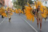 Un espectacular desfile pone el broche de oro a un carnaval de éxito