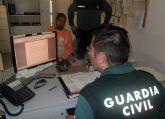 La Guardia Civil detiene al presunto atracador de personas mayores de Mula