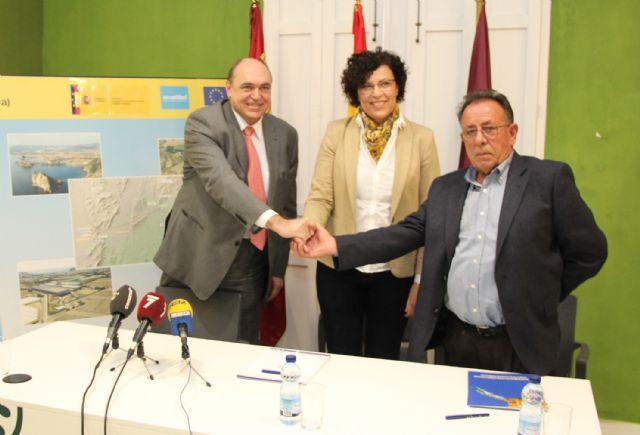 Acuamed y la Comunidad de Regantes de Puerto Lumbreras firman un convenio para la ejecución de obras complementarias de distribución de agua de la desaladora de Águilas-Guadalentín - 2, Foto 2