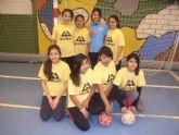La Sala Escolar de Totana acogió la semifinal de la fase intermunicipal de futbol sala de Deporte Escolar