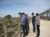 Periodistas británicos visitan los principales enclaves de San Pedro del Pinatar