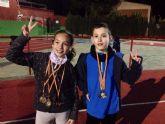 Aznar y M�ndez se traen 6 medallas de oro del Campeonato de España de Invierno para Ciegos y Deficientes Visuales