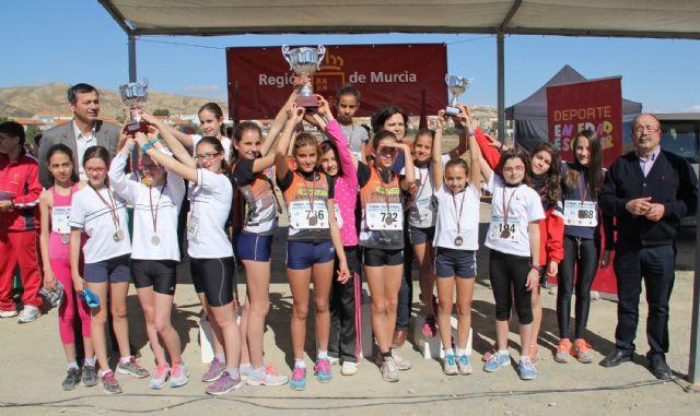Más de 900 deportistas de la Región de Murcia participan en la Final de Cross Escolar celebrada en Puerto Lumbreras - 1, Foto 1