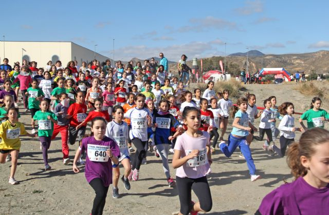 Más de 900 deportistas de la Región de Murcia participan en la Final de Cross Escolar celebrada en Puerto Lumbreras - 2, Foto 2
