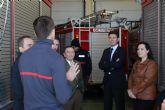 El gerente del Consorcio de Extinci�n de Incendios visita el Parque de Bomberos de Alhama-Totana y anuncia obras de remodelaci�n y ampliaci�n