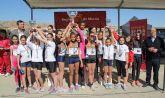 Más de 900 deportistas de la Región de Murcia participan en la Final de Cross Escolar celebrada en Puerto Lumbreras