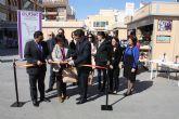 El outlet convierte la Plaza del Ayuntamiento en un centro comercial este fin de semana