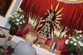 Numerosos vecinos muestran un año m�s su devoci�n al Cristo de Medinacelli