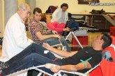 La IV campaña solidaria de donaci�n de sangre promovida por el Ilustre Cabildo Sangre cofrade, Sangre solidaria result� un �xito