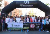 Más de 800 personas se sumaron a la Carrera de la Mujer 'Ciudad de Puerto Lumbreras' a beneficio de la Asociación Contra el Cáncer
