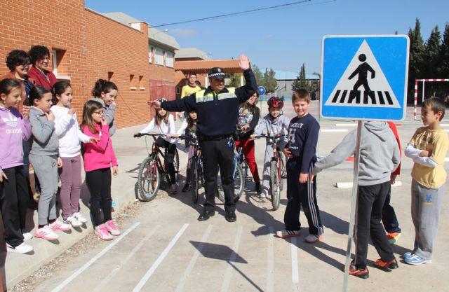 Jornadas de Seguridad Vial en los Centros Escolares de Puerto Lumbreras durante todo el mes - 1, Foto 1