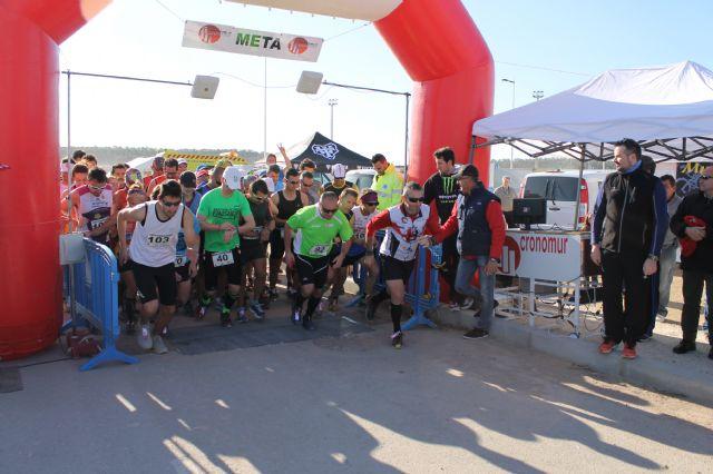 Oscar Céspedes y Sebastiana Rabal se imponen en la I Carrera de Montaña de Mazarrón, Foto 1