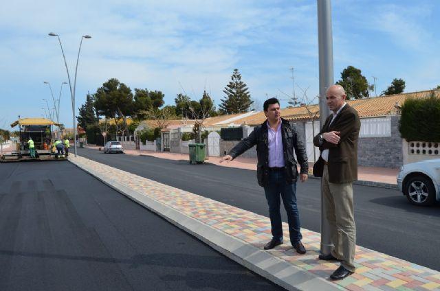 Las obras de pavimentación de la Avenida Virgen de Loreto finalizan esta semana - 1, Foto 1