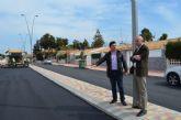 Las obras de pavimentación de la Avenida Virgen de Loreto finalizan esta semana
